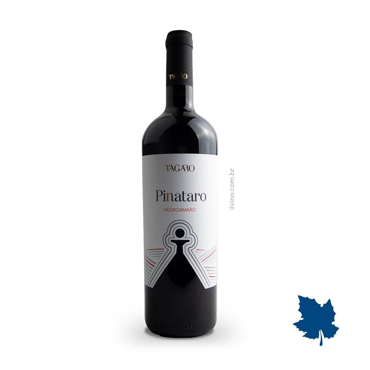 Vinho Italiano Tagaro Pinataro Negroamaro IGT 2017 750ml