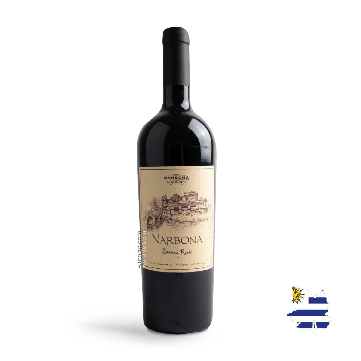 Vinho Uruguaio Narbona Tannat Roble 2015 750ml
