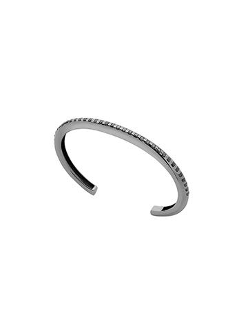 Bracelete Tubo Diamantes Jv Man II