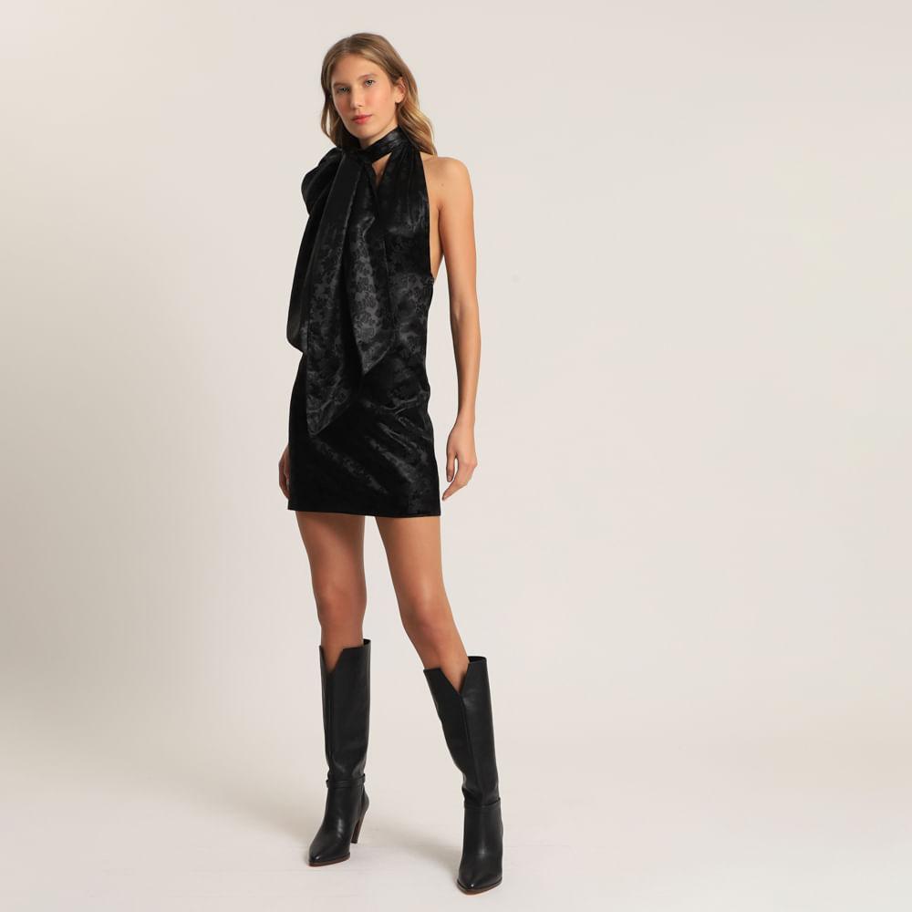 Vestido Com Amarração Givenchy